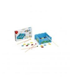 Dal Negro wooden fishing Game 055682 Dal Negro- Futurartshop.com