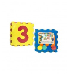 Puzzle pad with numbers and discs 31056 Mazzeo- Futurartshop.com