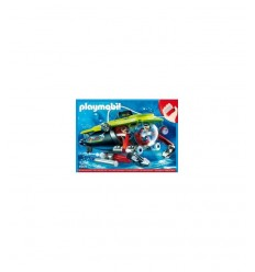 Underwater motor submarine 4909 4909 Playmobil- Futurartshop.com