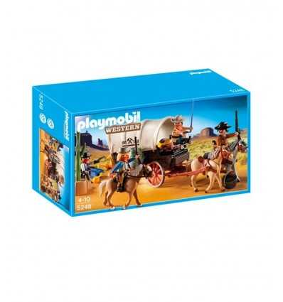Playmobil assault on Stagecoach  5248 Playmobil- Futurartshop.com
