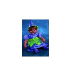 Carnival costume witch child 3-12 months H004-001 Joker- Futurartshop.com