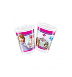 8 glasses Princess Sophia CMG82003 Como Giochi - Futurartshop.com