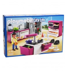 Fully equipped kitchen with island 5582 Playmobil- Futurartshop.com