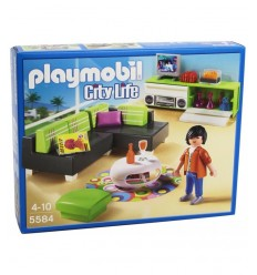 Salon avec des meubles design 5584 Playmobil- Futurartshop.com
