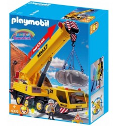 With fly-jib cranes 4036 Playmobil- Futurartshop.com